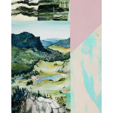 PBS Fabrics - Modern Landscapes by Noelle Phares - Green Valley