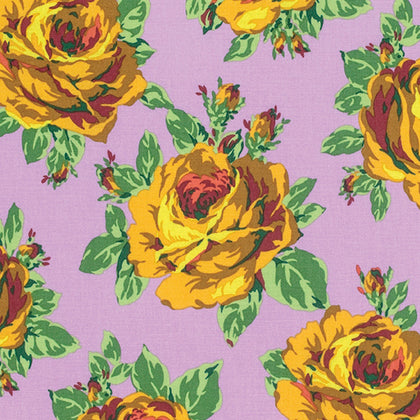 Amy Butler Eternal Sunshine Rose Lore - Violet