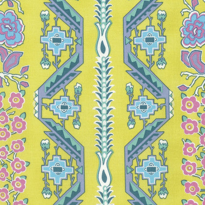 Amy Butler Splendor Fabric - Native Folk Moonglow
