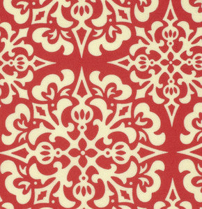 Heather Bailey Ginger Snap - Snowflake Red