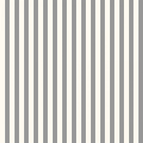 Verna Mosquera Candy Stripe in Silver