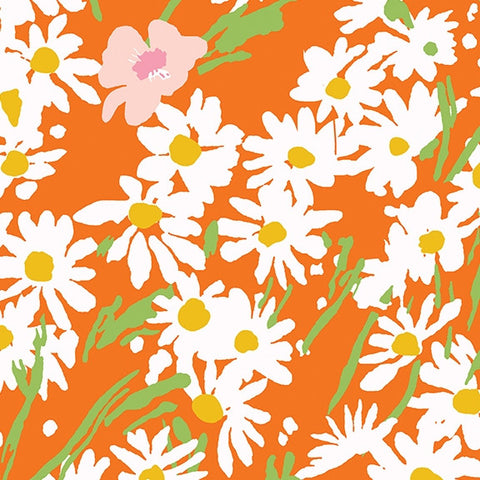 Garden Party Daisies Orange