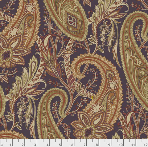 Sanderson - Cashmere Paisley in Spice