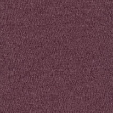 Essex  linen/cotton blend - Plum