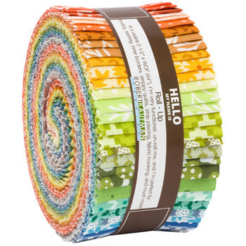 Elizabeth Hartman Paintbox Jelly Roll
