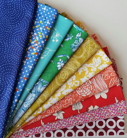 Fat Quarter Bundle - January 2017 Rainbow Bundle