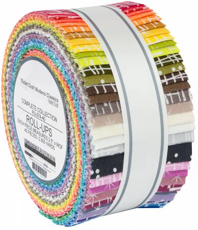 Violet Craft Modern Classics - new colour story- Jelly Roll (design roll)