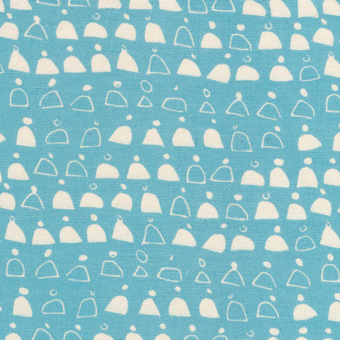 Rain Walk Swell Blue Canadian Online Fabric Store