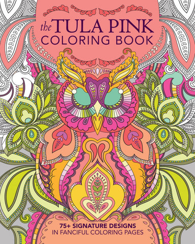 Tula Pink Colouring Book