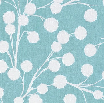 Cali Mod Sateen by Joel Dewberry - Chestnut Branch Aqua