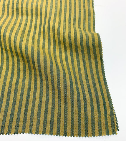 Savannah Striped Linen - Avocado