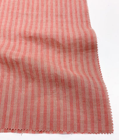 Savannah Striped Linen - Watermelon