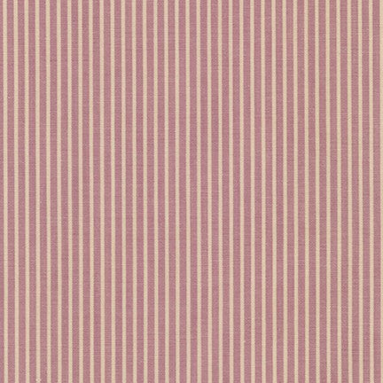 Crawford Gingham and Stripe - Stripe in Violet