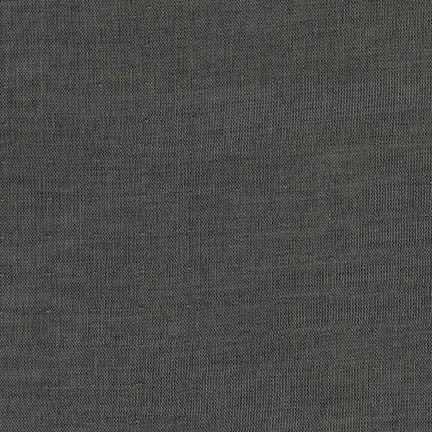 Double Gauze Chambray Black
