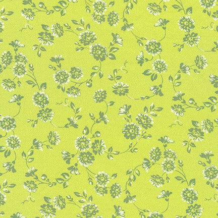 Robert Kaufman London Calling Cotton Lawn - Lemon