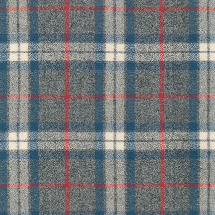 Mammoth Flannel - Large Plaid Steel