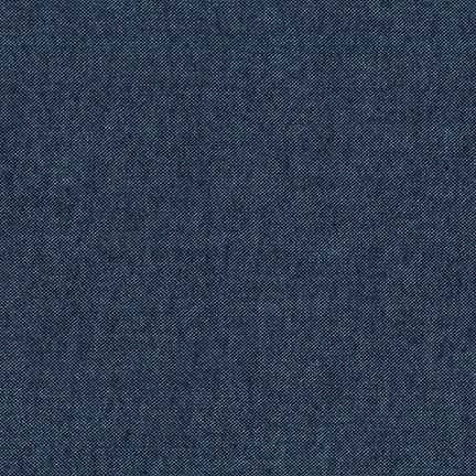 Robert Kaufman Flannel Chambray - Denim