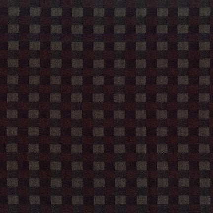 Robert Kaufman Mammoth Flannel - Dark Check