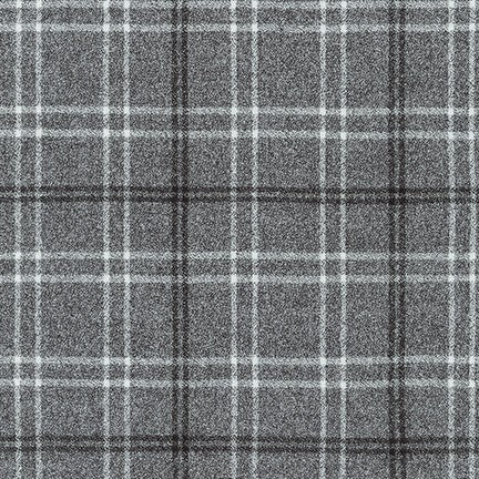 Robert Kaufman Mammoth Flannel - Pepper
