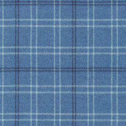 Robert Kaufman Mammoth Flannel - Pacific