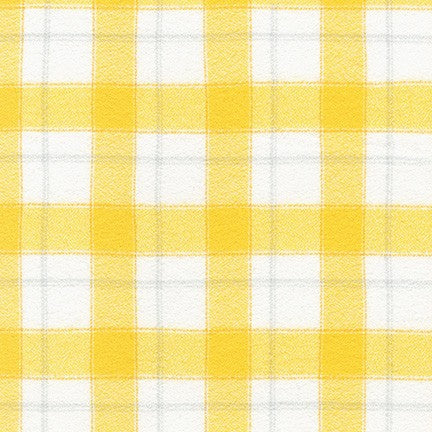 Robert Kaufman Mammoth Flannel Junior - Duckling