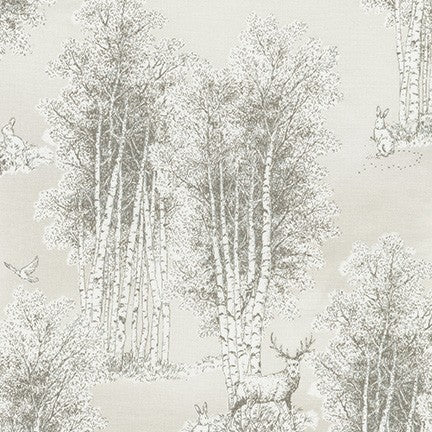 Winter Shimmer / Wildwood Grace - Toile in Taupe