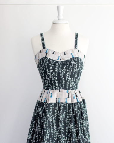 Eloise Renouf Sow and Sew - Rows and Rows in Blue