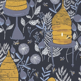 Honey Bee by Rae Ritchie - Honey Bee in Navy