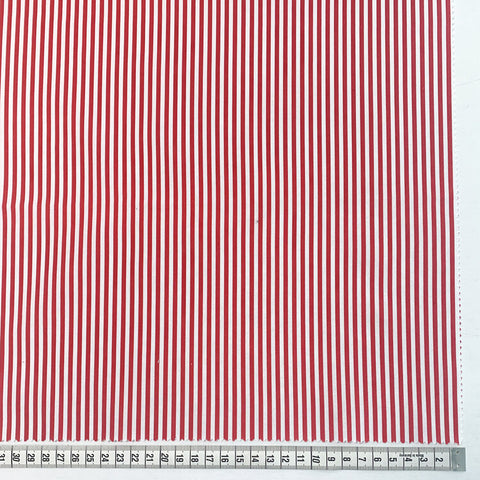 "Gordon 1/8"" Stripe - Red and White"