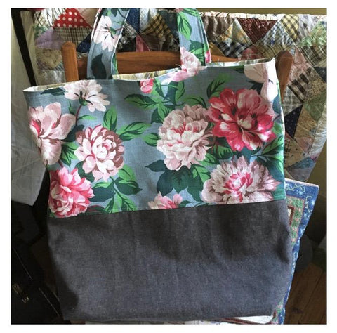 Market Tote Workshop - Wednesday May 30 10:00AM - 1:00PM