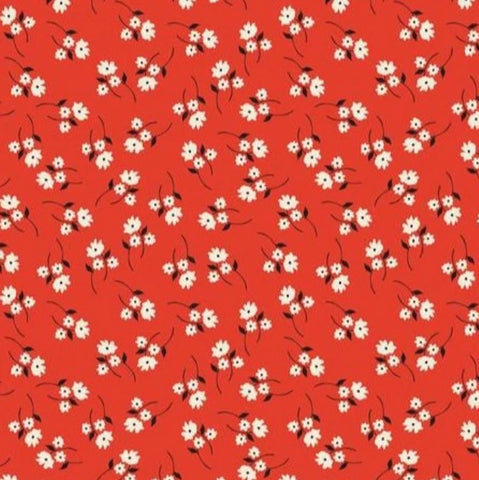 Blend Fabrics - Enchanted -Posy in Red