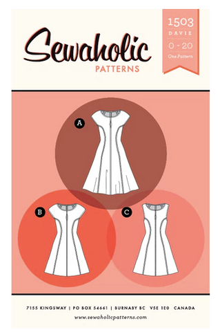 Sewaholic Sewing Patterns - Davie Dress