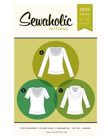 Sewaholic Sewing Patterns - Renfrew Top