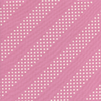 Cotton + Steel Dottie Peacock Pink
