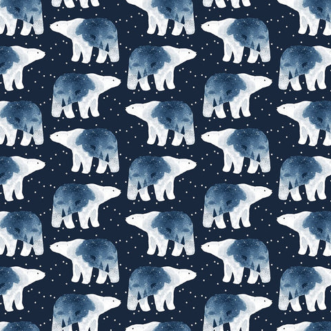 Dear Stella Brave Enough to Dream in Patriot Quilting Cotton
