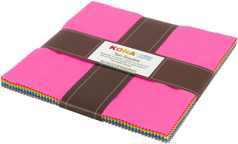 "Kona New Solids - 10"" layer cake"