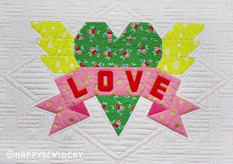 Happy Sew Lucky - Tattoo Quilt Kit - Join the Sew Along - PRE_ORDER