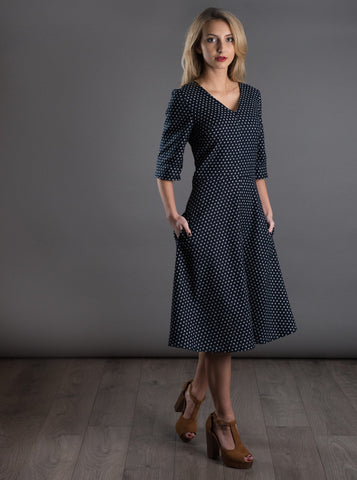 The Avid Seamstress - A-Line Dress