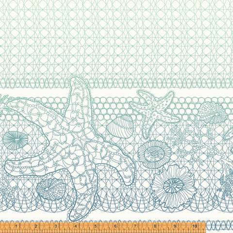 Tidal Lace - Sea Star in white