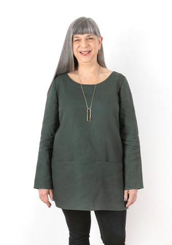 Grainline Uniform Tunic - 3