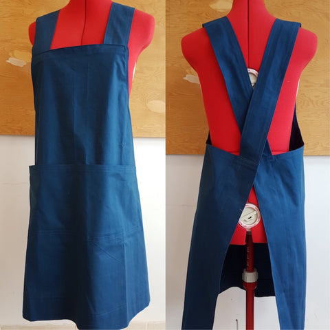 Cross Back Apron Workshop