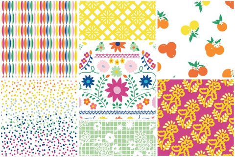 Designer Bundle - Dana Willard Fiesta Fun 7 x FQ