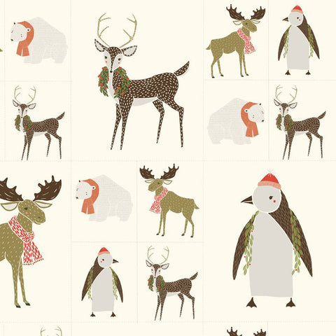 Merrily by Gingiber, Winter Critters Galore