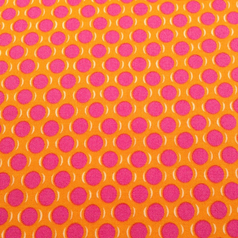 Yuwa Live Life Collection - Colour Dots Pink