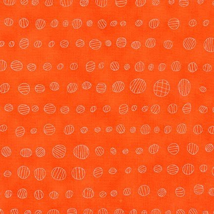 Carolyn Friedlander Doe - Droplets - Carrot