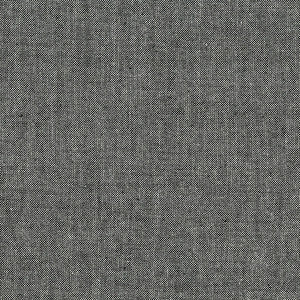 Andover Chambray Fabric - Black