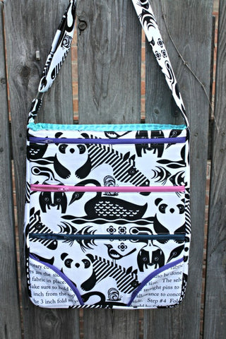 Sew Sweetness - Dot Dot Dash Bag