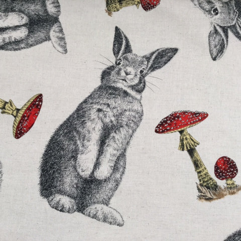 Kobayashi Light Weight Canvas - Bunny neutral