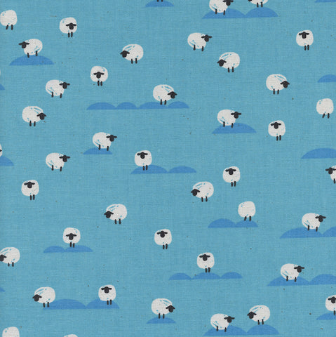 Cotton + Steel Panorama - Sheep in Water