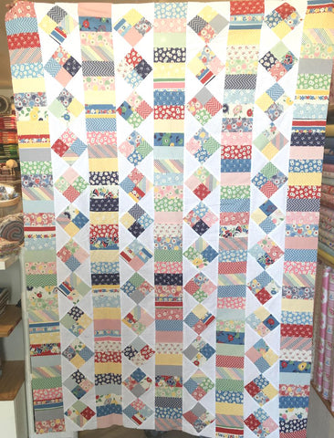 Charm Square Quilt Workshop - Saturday September 21 10:00 AM - 4:00 PM